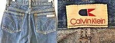 Vintage 1970s 1980s Calvin Klein Blue Jeans Girls size 7 24x31 made in USA KC