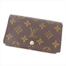 Louis Vuitton Wallet Purse Monogram Brown Woman unisex Authentic Used T8283