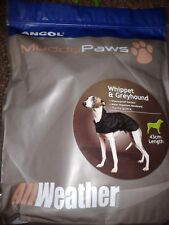 Ancol Muddy Paws Diamond Quilt Black Dog Coat Size Small S in Packet