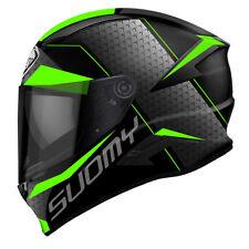 Casco Helmet Integrale Moto Suomy Speedstar Rap Green Taglia Size M