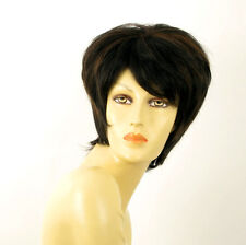 wig for women 100% natural hair black and copper intense ref FIONA 1b30 PERUK