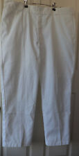 Dickies 874 Original Fit White Work Scrubs Pants Men's Size 40 x 30