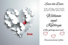 Envelope Wedding Save the Dates