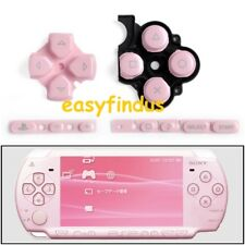 replacement parts cross pad volume start button pink for sony psp 3000 series