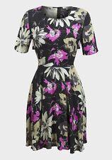 Viscose Short Sleeve Crew Neck Regular Dresses for Women