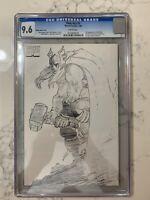 Thor #1 Volume 2 Sketch Variant CGC 9.6 John Romita Jr.