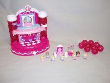 Barbie Squinkies Set My Fab Dance Stage Dispenser Dolls Dogs Lot 9 w Balls Blip