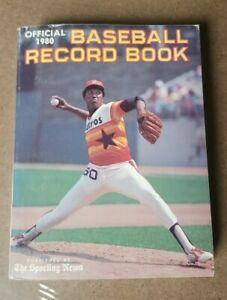 Vintage Baseball Record Book 1980 The Sporting News
