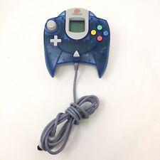 Sega Dreamcast Translucent Blue Clear OEM Controller HKT-7700 P3B