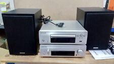 Denon D-F109C Stereo Kompaktanlage CD UKW-Tuner 2x 65 Watt USB Händler D27909