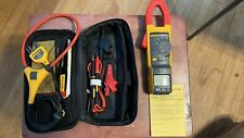 Fluke 381 Remote Display True Rms Acdc Clamp Meter Withiflex I2500 18