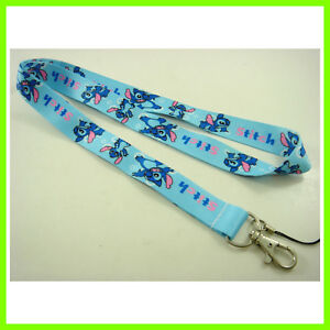 Lilo and Stitch ID card holder, Key chain Neck Strap Lanyard, Phone Neck Strap