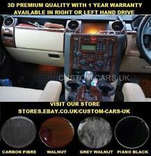 LAND ROVER DISCOVERY 3 LR3 (2004-2009) Dash Kit - Walnut - Carbon - Piano Black