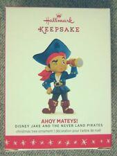 Mint 2016 Hallmark Disney Jake and The Never Land Pirates Ahoy Mateys! Ornament