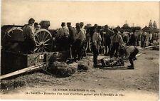 CPA  La Guerre Européenne de 1914 - Nantes -Formation d'un train ...  (222324)