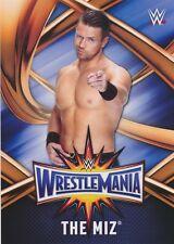 #27 THE MIZ 2017 Topps WWE Road Wrestlemania ROSTER