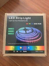 LEHOU SMD5050 RGB LED LIGHT STRIPS 50ft