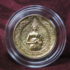 Thailand Wednesday Buddha Medal Coin Phra Um Bhat Receiving Thai Morning