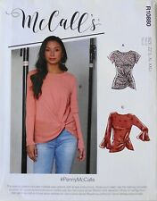 McCalls 7975 Misses Tops Sewing Pattern Sz 16-26