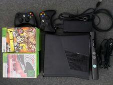 Xbox 360 slim 250gb+2 Controller+Kinect Kamera+16 Spiele