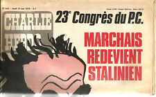 Charlie-Hebdo N° 443 ,1979,Marchais redevient Stalinien. 20 pages.