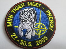 Mini Tiger Meet  27-30.5 2005 Embroidered Iron or sew on Patch P130