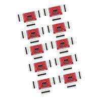 10 x 74HC595 IC 8-Bit Shift Shifting Register Breakout Module DIP-16 Circuit