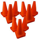 "Qty 36 ~ 9"" Football Training Pitch Marker Traffic Cone Field Agility Cone ORANG"