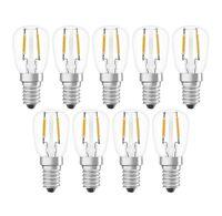 9 x OSRAM STAR SPECIAL T26 1.3 W E14 warmweiß komplakte LED Lampe wie 12W