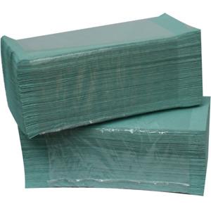 Einweg / Papierhandtücher 1-lagig, grün, 5000 Stk, 25 x 23 cm,ZZ-Falz #788106