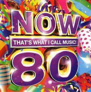 Various Artists : Now That's What I Call Music! 80 CD 2 discs (2011) Near Mint