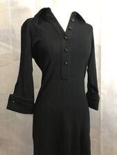 GF Ferre Womens Dress Size Italian Made Black