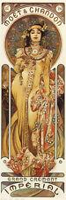 Moet & Chandon Poster Print by Alphonse Mucha, 12x36