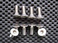 PEUGEOT CITROEN STAINLESS STEEL BRAKE DISC FIXING SCREWS BOLTS X 10