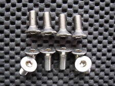 PEUGEOT CITROEN STAINLESS STEEL BRAKE DISC FIXING SCREWS BOLTS X 10