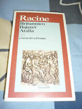Britannico Bajazet Atalia Racine