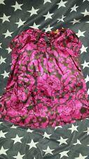 HEMA Mädchen Kleid Gr. 86/92 kurzarm 100% Baumwolle