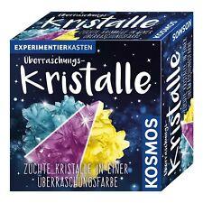 Überraschungskristalle Experimentierkasten Kristalle züchten Kristallzucht