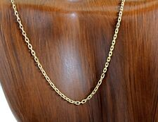 Rare Balestra 35 in Open Chain Link in 14k Solid Yellow Gold