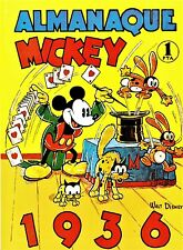 ALMANAQUE MICKEY 1936. Facsimil del álbum original de la Editorial Molino.