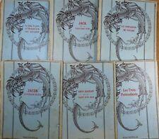 [ENFANTINA] Lot Les Plus Beaux Contes de Tous les Pays Hachette et Cie illustrés