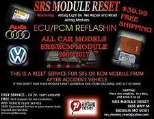 2000-17 AUDI VW MB VOLVO AIRBAG SRS MODULE RESET  P31406254, P31406534, P3140663