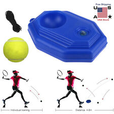 Upgrade Tennis Trainer Practice Aid Self-Study Rebound Ball Indoor Training Tool