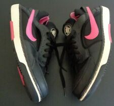 NIKE Women's Huarache Zoom Athletic Shoes Black Pink 385433-061 Size 10 Sneakers