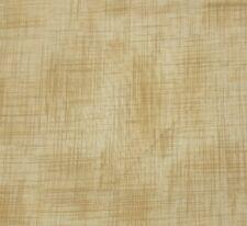 "1 yd 19"" ""Linen Texture"" P&B Textiles Brown Beige 100% Cotton Defects"