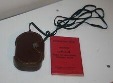 Vintage Exposure Meter Weston Master II Model 735 with Manual