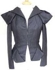 Amazing Bottega vaneta structuré gris origami veste 42 uk 10