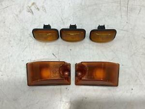 03-09 Hummer H2 OEM Front Roof / Cab Clearance Lights (Set of 5)