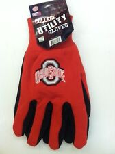 OHIO STATE BUCKEYES NCAA UTILITY WORK GLOVES OSFM NEW NWT