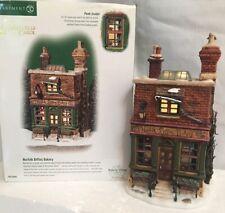 Dept 56 Dickens Village Norfolk Biffins Bakery A Christmas Carol 3D Scene #58491